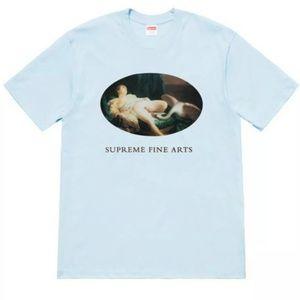 Supreme Leda And The Swan Tee Short Sleeve T-Shirt